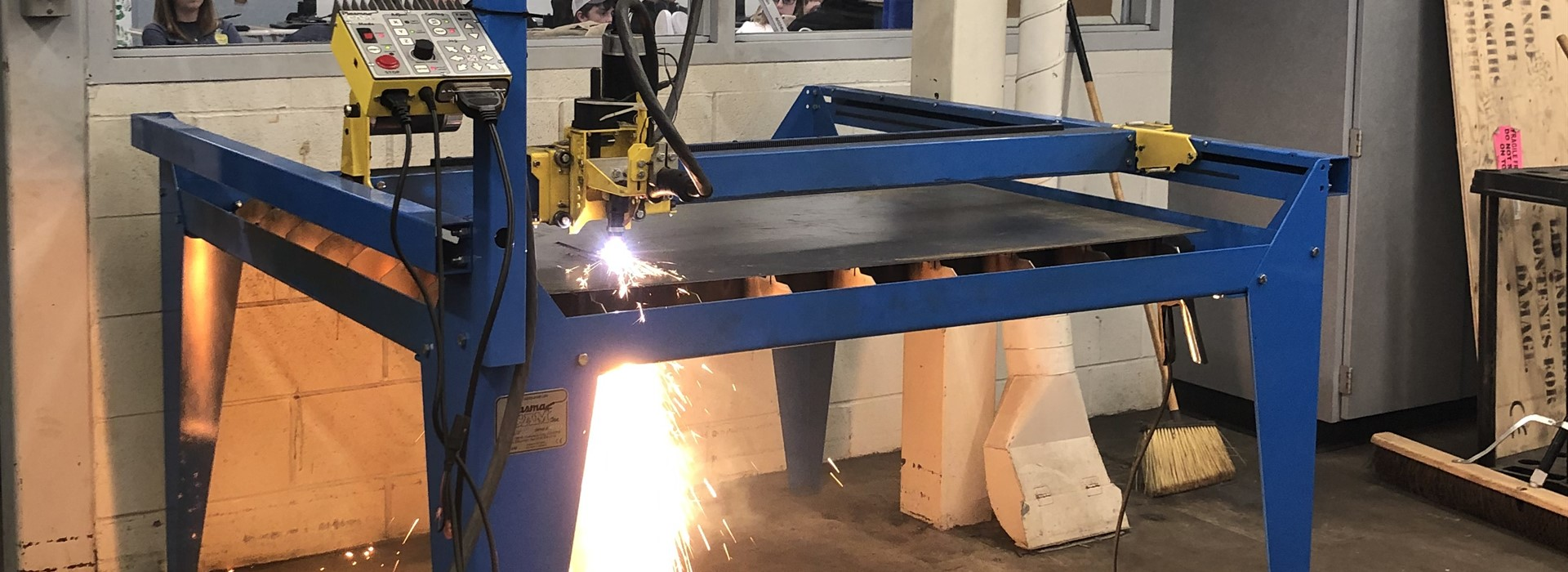 Ag's Plasma Cutter in action