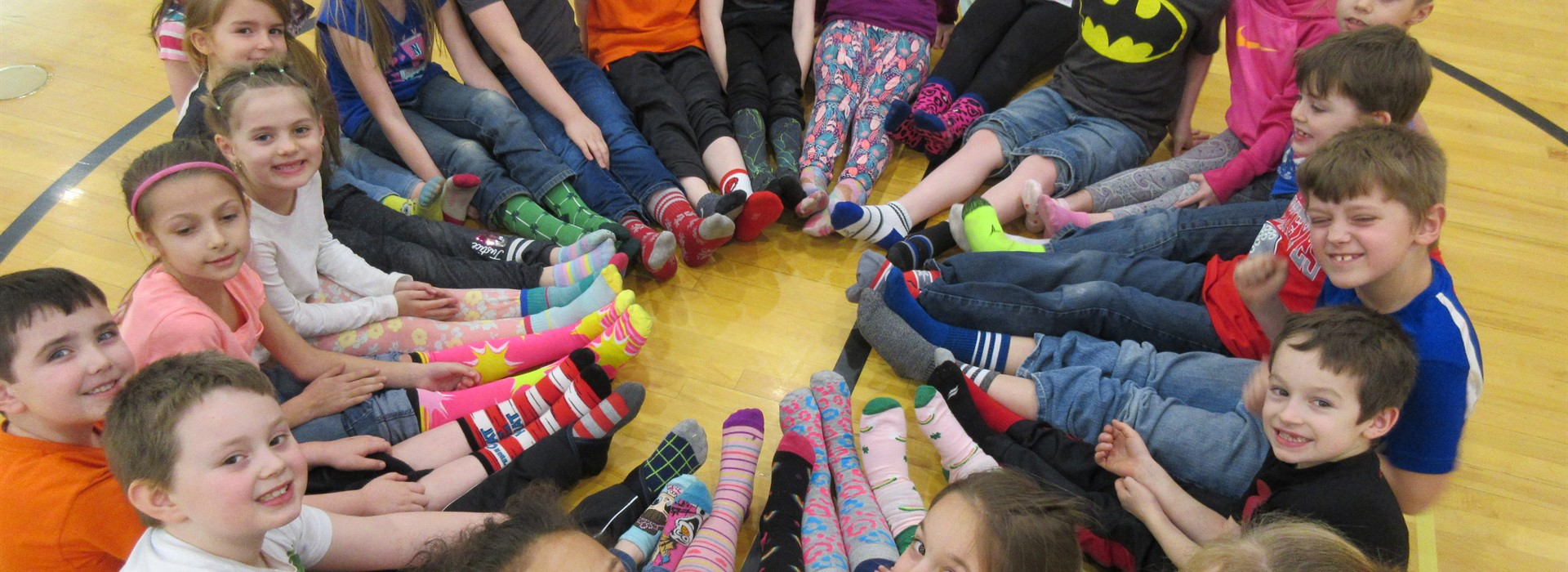 Crazy Sock Day to Celebrate Read Across America