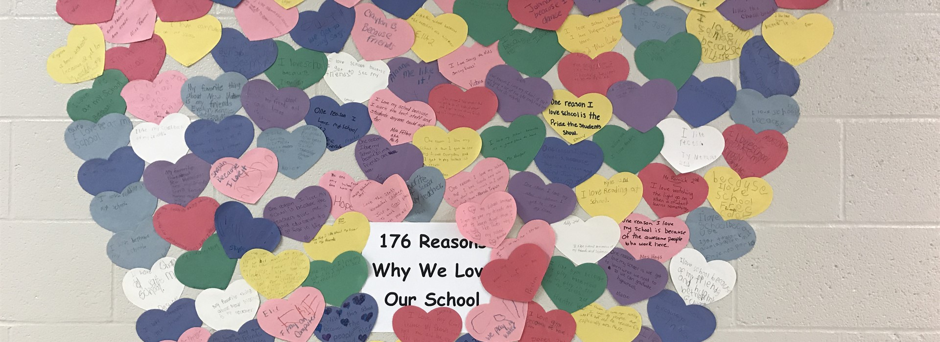176 Reasons Why We Love Our School